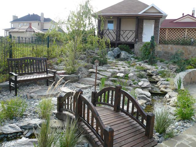Ландшафтный дизайн садовые