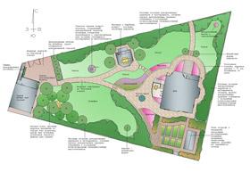 Итоговая концепция проекта благоустройства и озеленения. Ландшафтный дизайн