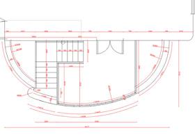 План бокового крыльца дома